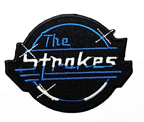 - Music T American Rock Band Alternative Rock Garage Rock Post-Punk Revival Band Music Logo Patch Embroidered Sew Iron On Patches Badge Bags Hat Jeans Shoes T-Shirt Applique
