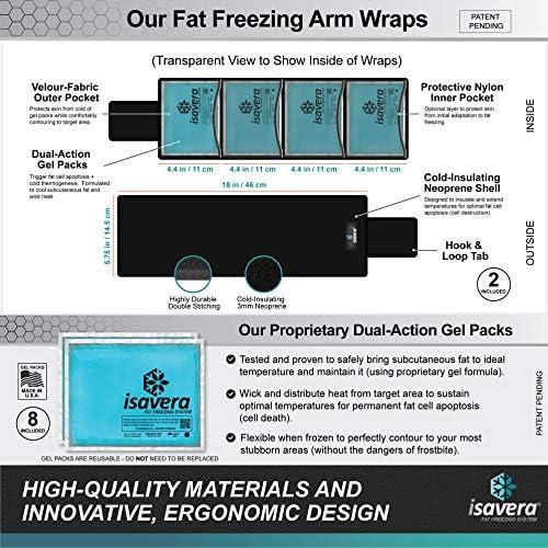 Isavera Arm Fat Sistema de congelación – Brazo Fat congelador y ...