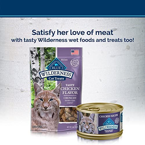 Blue Buffalo Wilderness High Protein Grain Free, Natural Adult Dry Cat Food, Chicken 8