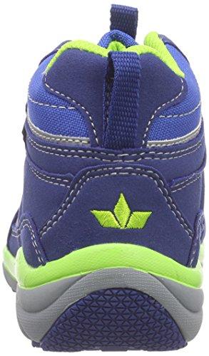 Lico Magic V Jungen Hohe Sneakers Blau (royalblau/grün)