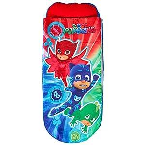 PJ Masks 406pjm Cama supletoria Hinchable para niños con edredón integrada Inflatable, poliéster, 150 x 62 x 20 cm: Amazon.es: Hogar