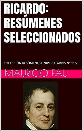 RICARDO: RESÚMENES SELECCIONADOS: COLECCIÓN RESÚMENES