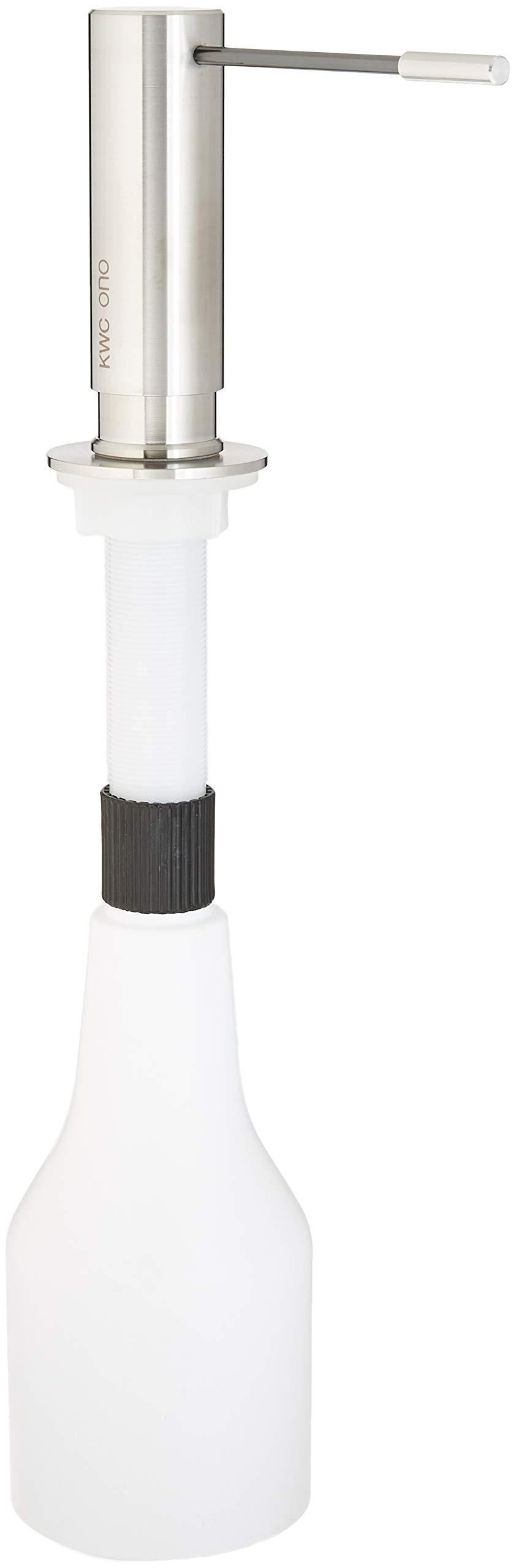 KWC Faucets Z.536.060.700 ONO Soap Dispenser, Steel