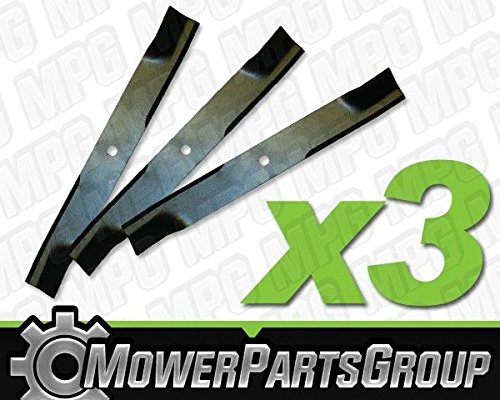 MowerPartsGroup (3) Hi-Lift Blades Fits Grasshopper with 52