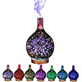 3D Essential Oil Diffuser 100ml Aromatherapy Ultrasonic Cool Mist...