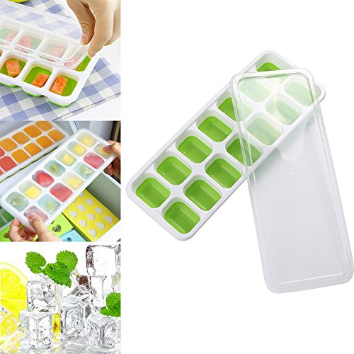 Yu2d  1 Pc Covered Ice Cube Tray