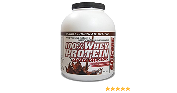 100% Whey Protein Delicatesse (4,4 Lb.) (2 Kg.) Double Chocolate Deluxe