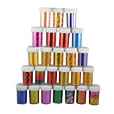 Happy Hours - 30 Colors Sky Stars DIY Nail Art Sticker Set /...