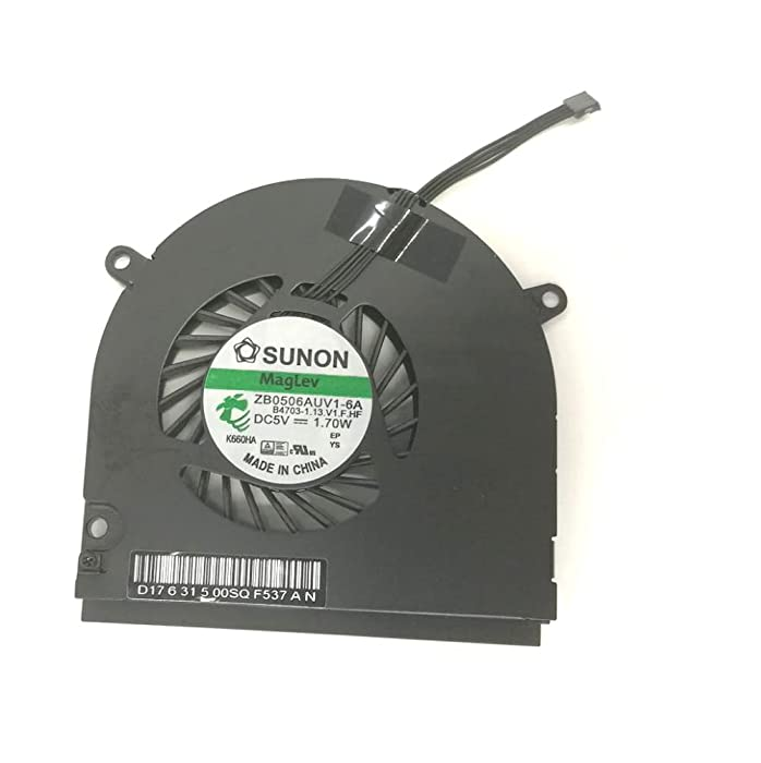 "Ittecc CPU Cooling Fan Fit for MacBook Pro 13.3"" A1278 13"" Aluminum Unibody MagLev ZB0506AUV1 6A B3657"