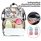 YOOFOSS Diaper Bag Backpack, Baby Nappy Changing