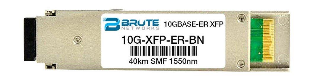 Brute Networks 10G-XFP-ER-BN - 10GBASE-ER 40km 1550nm XFP Transceiver (Compatible with OEM PN# 10G-XFP-ER)