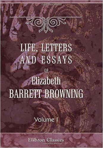 elizabeth barrett browning biography