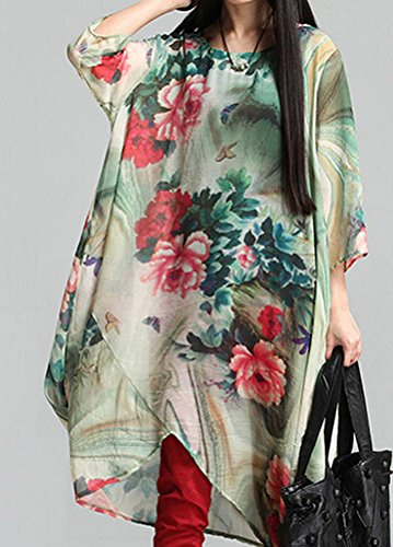 MatchLife - Vestido - vestido - para mujer Verde