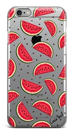 Watermelon Clear TPU CaseYard iPhone Clear Case Ultra Thin TPU Cover Protective case for Apple iPhone, Made in California (iPhone 5/5S/SE)