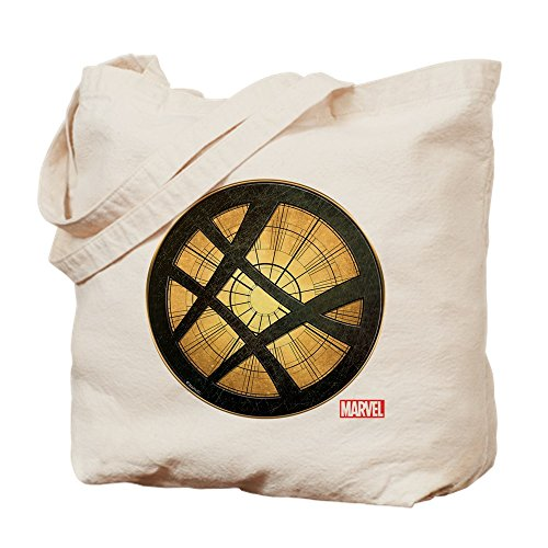 CafePress - Doctor Strange Grunge Icon - Natural Canvas Tote Bag, Cloth Shopping Bag (Icon Natural)