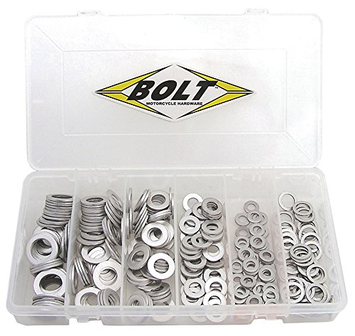 Bolt Motorcycle Hardware (2008-DPW) Drain Plug Washer Assortment