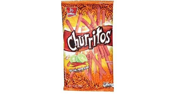 Amazon.com: Churritos Red Chili Pepper & Lime Corn snack ...