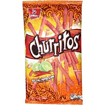 Amazon.com: Churritos Red Chili Pepper & Lime Corn snack ...