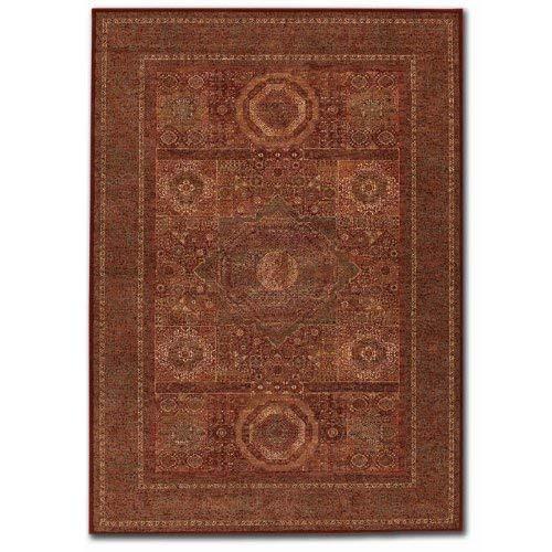 Couristan 1383/3890 Old World Classics Mamluken/Burgundy 2-Feet 2-Inch by 8-Feet 11-Inch Runner Rug