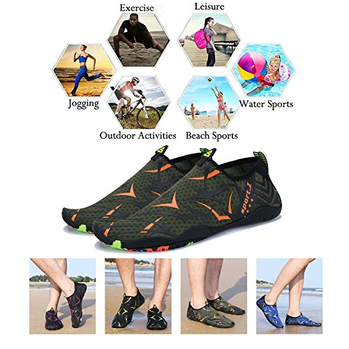 Quick Sports Socks Beach B2 Skin Dry Aqua Men Swim Shoes Barefoot PENGCHENG khaki Women Water 5xqw7qfgz