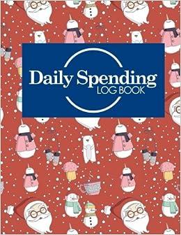 daily spending log book daily expense budget tracker expense