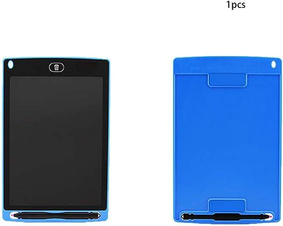 8.5インチの目の保護電子描画パッドLCD画面書き込みタブレットデジタルグラフィック描画タブレット(青)