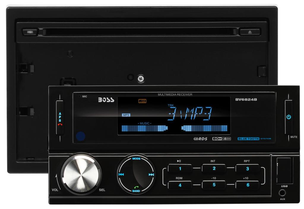 Amazon.com: BOSS Audio Systems BV6824B In-Dash Double-Din