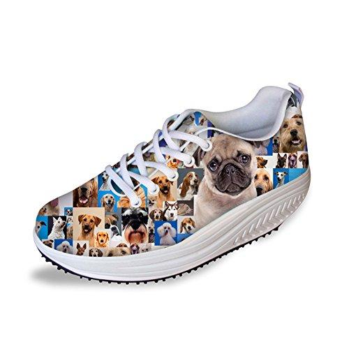 HUGSIDEA Women s Platform Walking Sneaker   VRU81GS6V