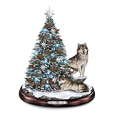 Tabletop Christmas Tree: Winter's Majesty Tabletop Christmas Tree by The Bradford Exchange