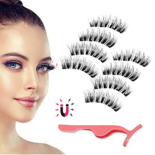 Magnetic Eyelashes, Day to Night Eyelash Kit, Reusable