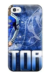 Cute Tpu JennaCWright Fernando Torres Chelsea Case Cover For Iphone 4/4s