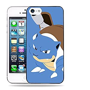 Case88 Designs Pokemon Blastoise Protective Snap-on Hard Back Case Cover for Apple iPhone 5 5s
