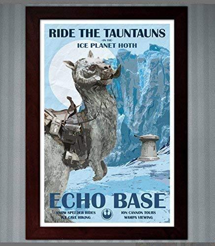 Star Wars - Hoth Travel Poster - Echo Base - 11x17 -