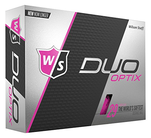 Wilson Staff Duo Soft Optix Golf Balls,