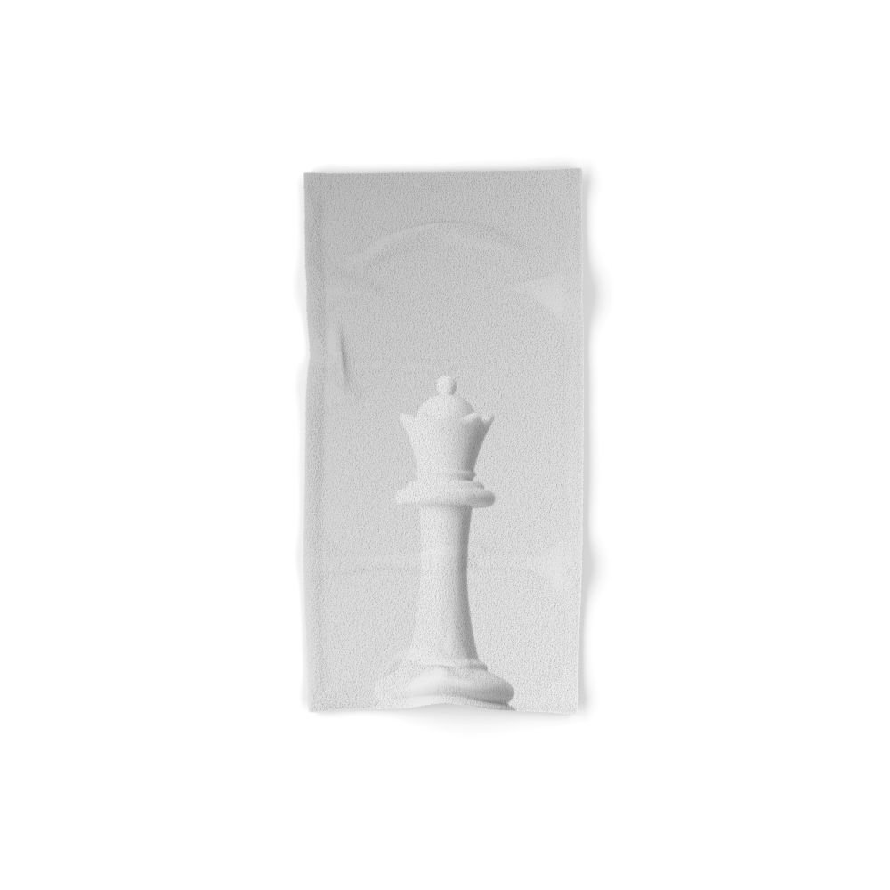 Society6 GAME OF THE THRONE / THE WHITE QUEEN Set of 4 (2 hand towels, 2 bath towels)