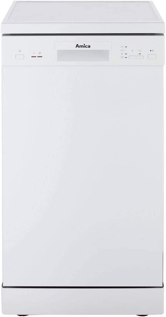, 1,5 m, 1,5 m, 1,75 m, Canasta Amica GSP 14742 W lavavajilla 9 cubiertos A+ Lavavajillas Blanco, Estrecho 45 cm