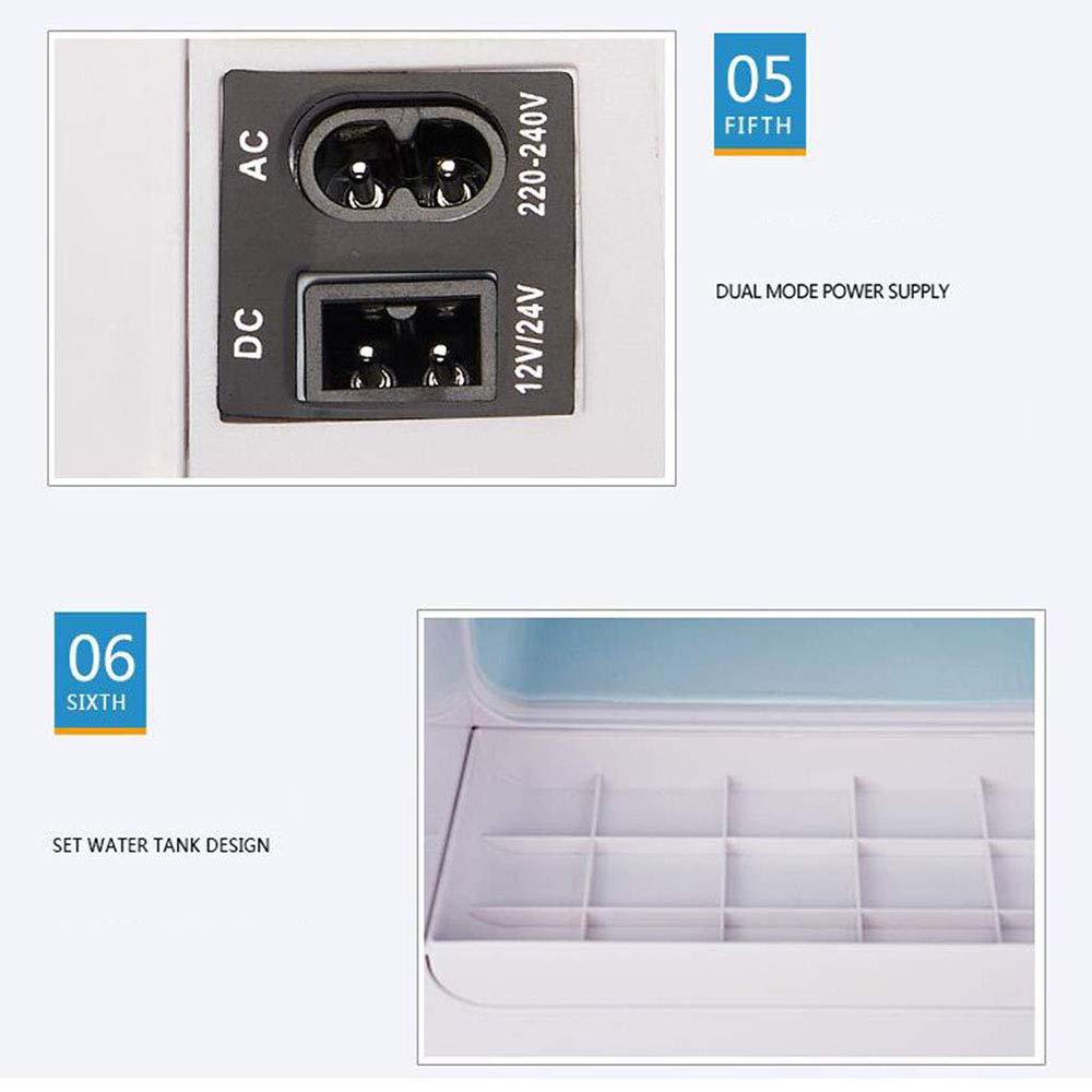 24 V 220 V hei/ß und kalt tragbarer elektrischer K/ühlschrank im Freien tragbarer Mini-K/ühlschrank 35L tragbarer Autok/ühlschrank Kompressor K/ühlschrank//Auto und zu Hause 12 V
