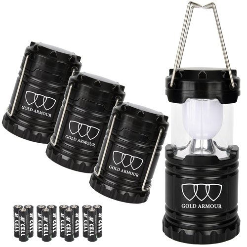 Gold Armour Camping Lantern Emergencies