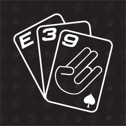 Jeu cartes BMW E39?Stickers