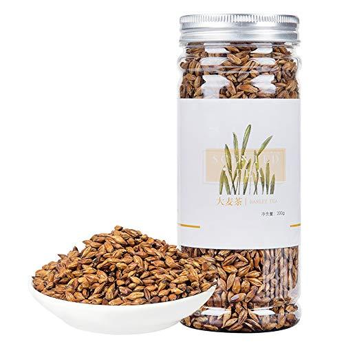 Organic Barley Tea,Roasted Herbal Tea Supplement,Sugar Free & Caffeine Free,Aid Digestion,Loose Weight,Burning Fat,Skin Care -200G ()
