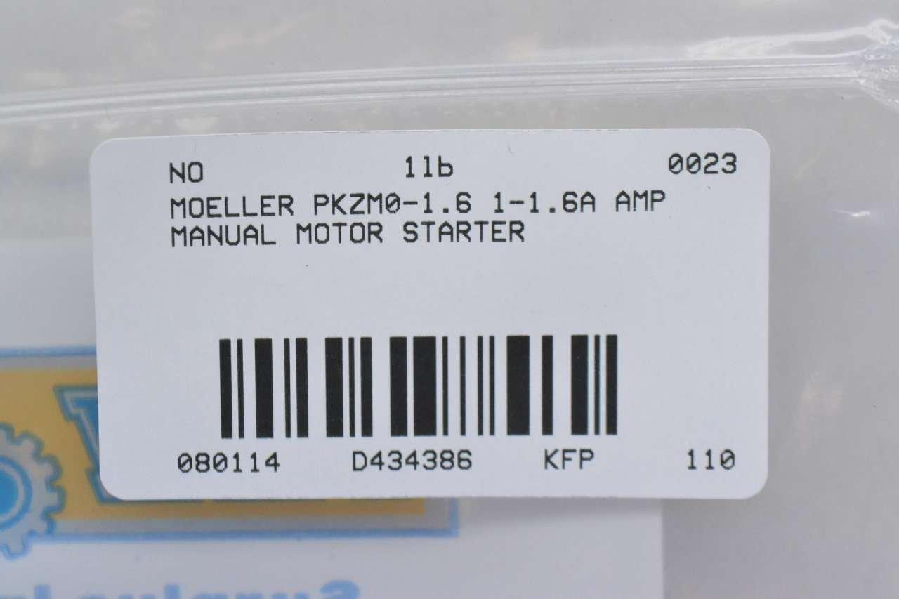 PKZM0-16 EATON MOELLER CIRCUIT BREAKER THERMAL MAG 16A 1P