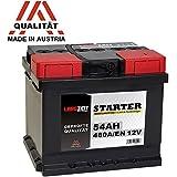 LANGZEIT Autobatterie 12V 54Ah ersetzt 44AH 45AH 46AH 50AH 52AH 53AH 55AH
