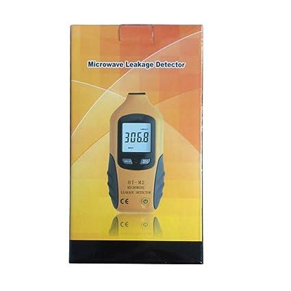 ht-m2 microondas detector de fugas de alta precisión Medidor de radiación Tester 0 –