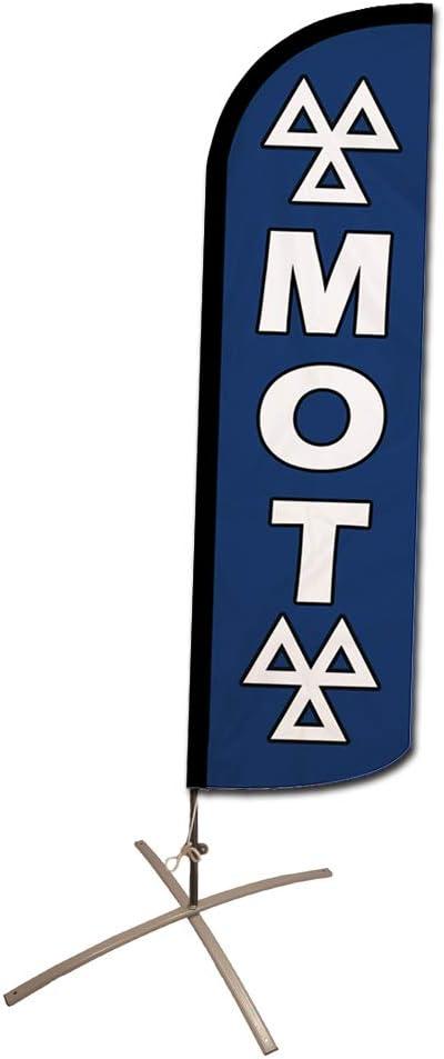 MOT Feather Advertising Flag