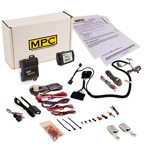 MPC Prewired Remote Start & Keyless Entry Kit Compatible with Select Ford F Series Trucks [2011-2016]. Kit is Prewired and Includes a T-Harness To Simplify the Installation! For Diesel Engines Only
