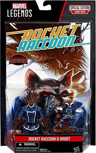 Marvel Legends Rocket Raccoon & Groot Action Figure 2-Pack
