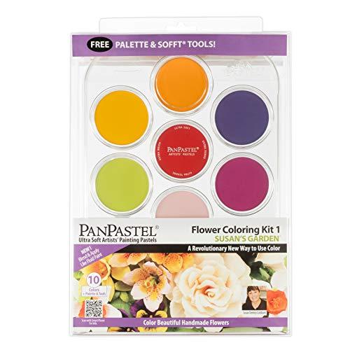 PanPastel pastel Ultra Soft Artist 10 colores y herramientas