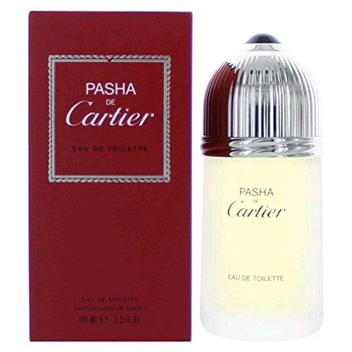 Pasha de Cartier | Eau de Toilette | Fragrance for Men | Classic Fougere Accord with Lavender and Patchouli | 100 mL / 3.3 fl oz