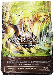 Pinnacle Holistic Duck and Potato Formula Dog Food, 7.5-Pound