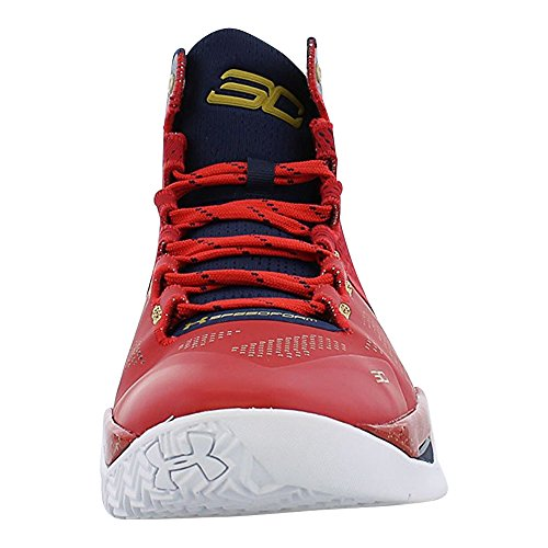 Under Armour Curry Orange Basketball Metallic Red Men's 2 7fqfnO4